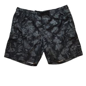 Ocean Pacific Black & Gray Swim Trunks 3XL
